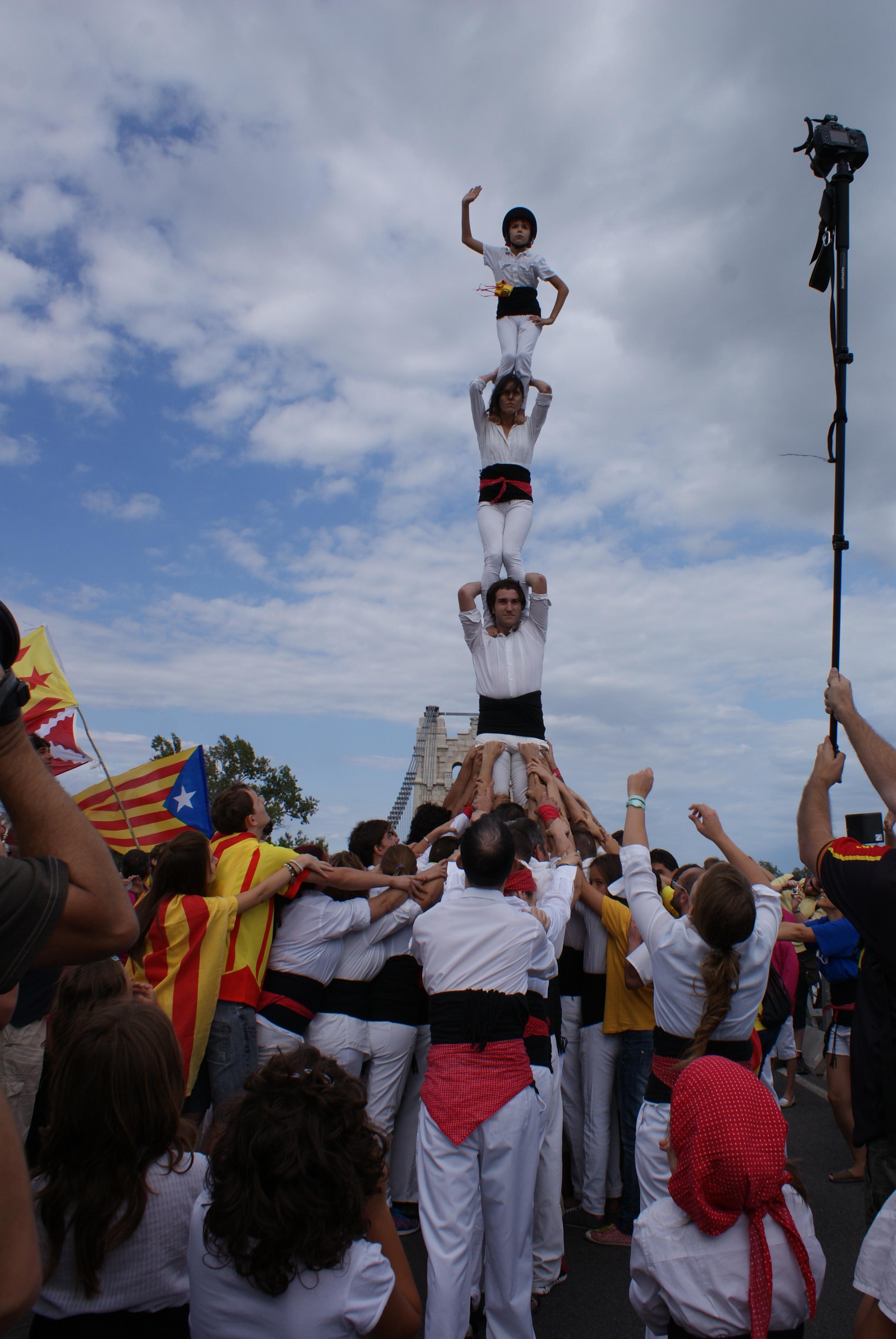 Pilar a la Via Catalana