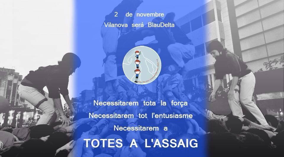 Vilanova serà #BlauDelta