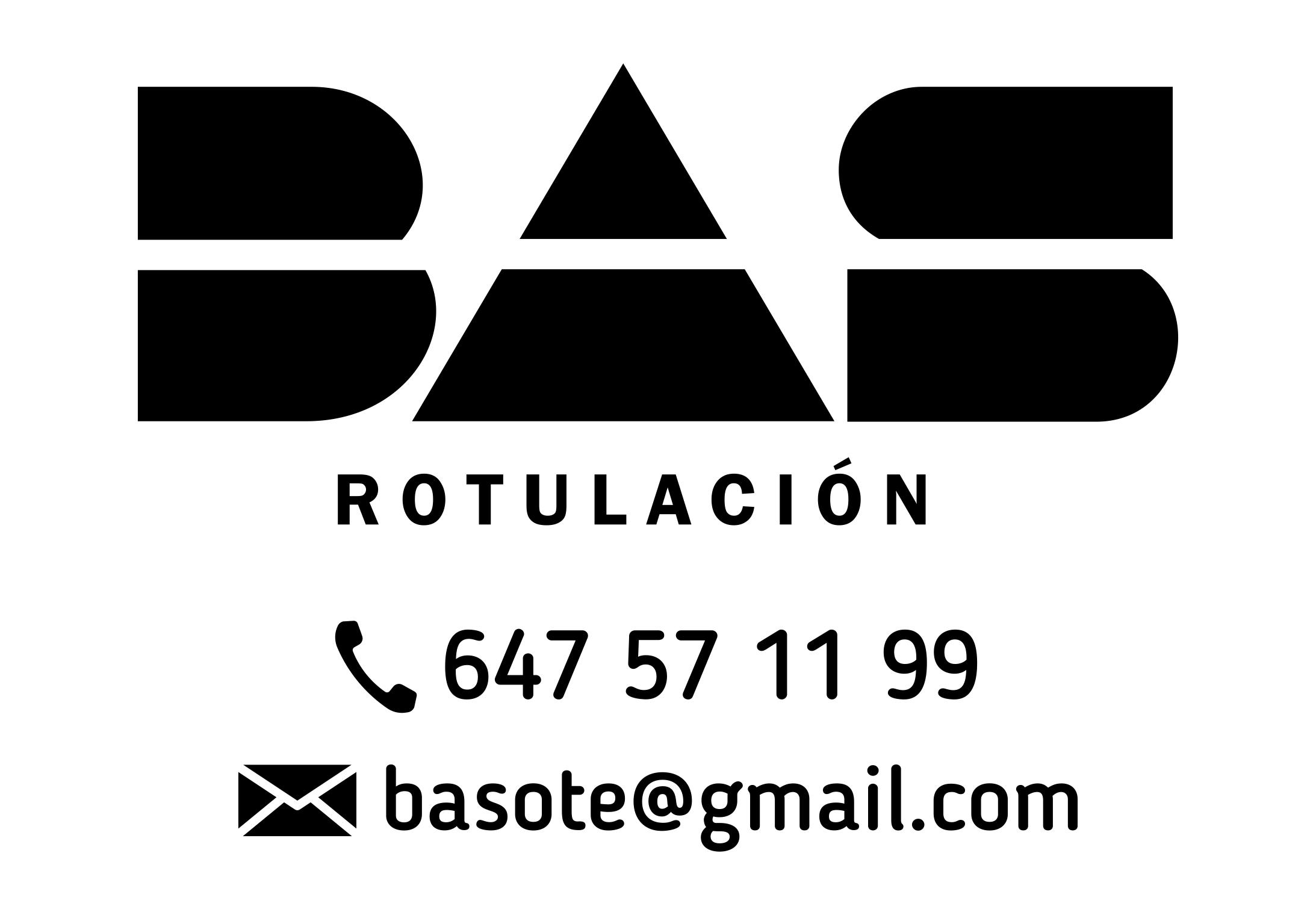 BAS rotulació