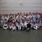 Foto de grup amb els Xics Caleros